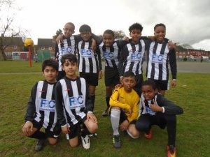 Y5&6 boys play at Hillstone in the ESPFA League